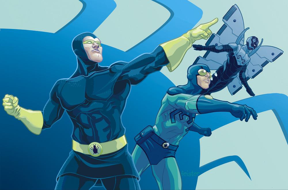 Blue Beetle Warner Bros. DC