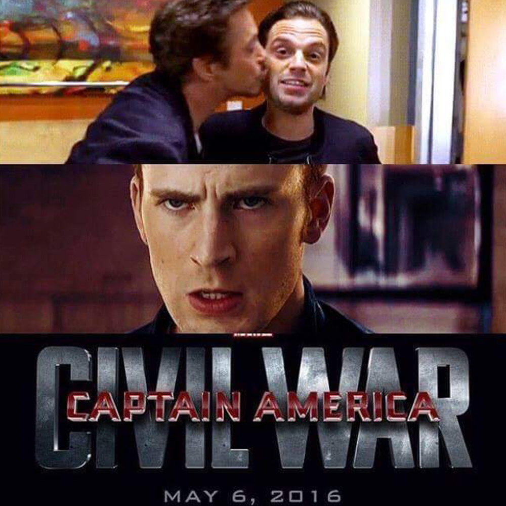 Captain America Meme Malay