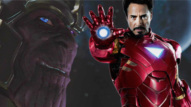 Iron Man vs Thanos
