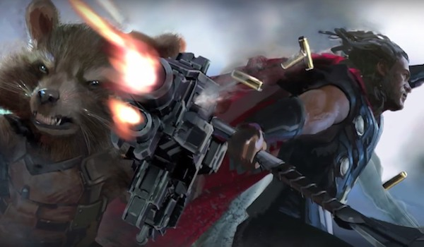 avengers infinity war take a look at thor s incredible new weapon