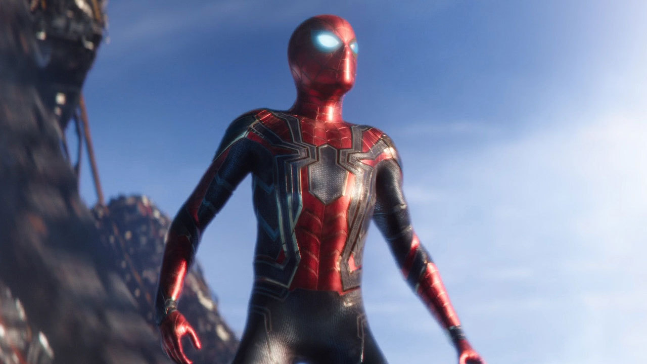 Avengers Infinity War Spiderman Trailer