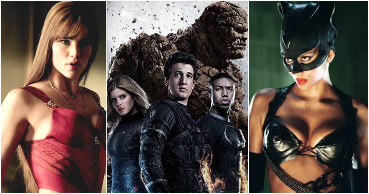 10 Worst Performing Superhero Films On Rotten Tomatoes