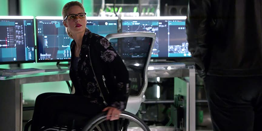 Arrow Level Two Episode Felicity Smoak