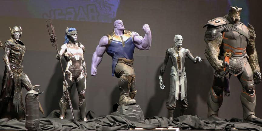 Avengers: Infinity War Ebony Maw