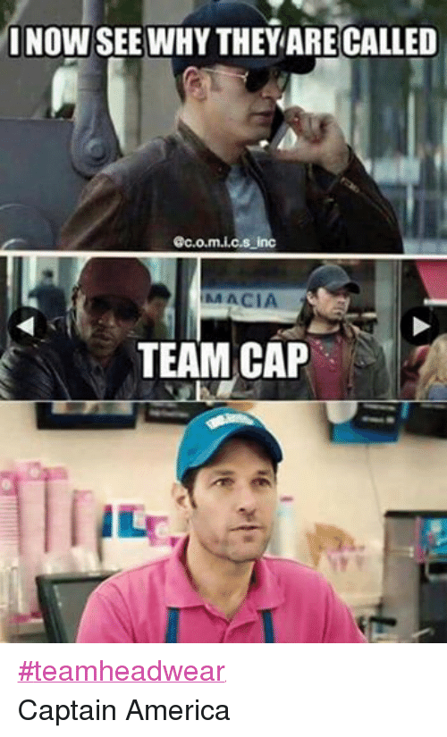 Facebook teamheadwear Captain America a15135 20 funniest captain america memes that will make you giggle