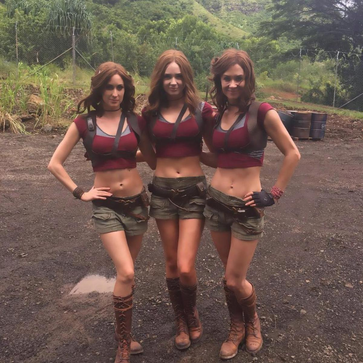 33 Mind Blowing Images Of Celebrities With Their Stunt Doubles