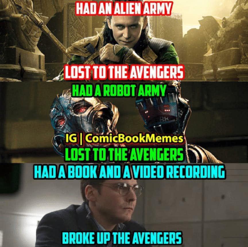 Dangerously Marvel Ous Villain Memes Thethings