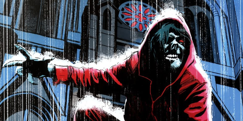 Morbius Jared Leto Tyrese Gibson