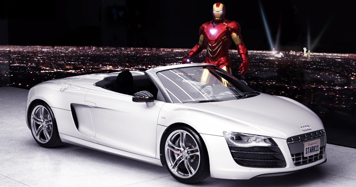 Most Expensive Collection Of Cars That Tony Stark Owns - Most expensive audi car