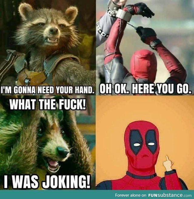 Deadpool vs Avengers memes