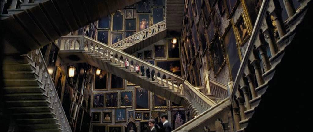 Harry Potter Staircase : Things you didn t know about the four founders of hogwarts