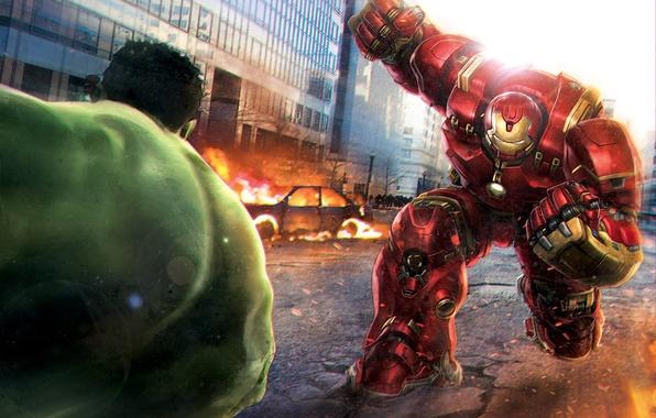 Avengers: Endgame Captain Marvel Avenger Why Hulk Got Beating From Hulkbuster