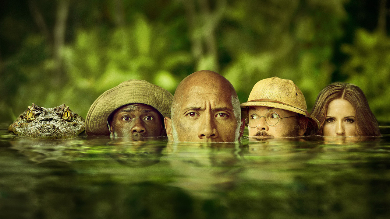 The Best Jumanji: Welcome To The Jungle Full Movie Download 720P  Background