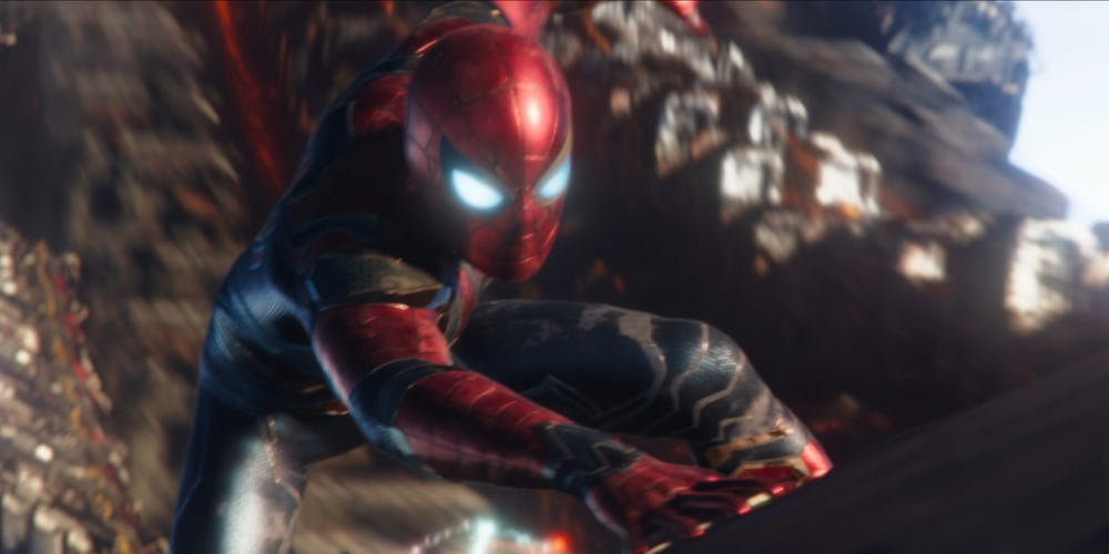 Iron Spider Suit spider-man