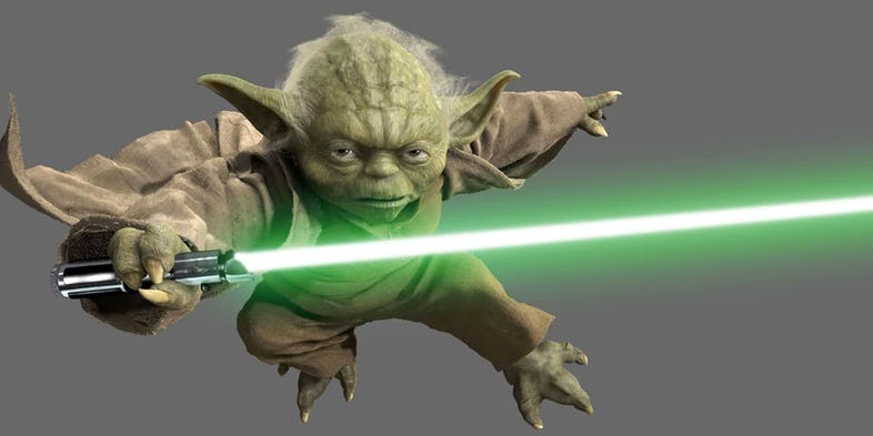 Jedi the is strong with this one - 4 3