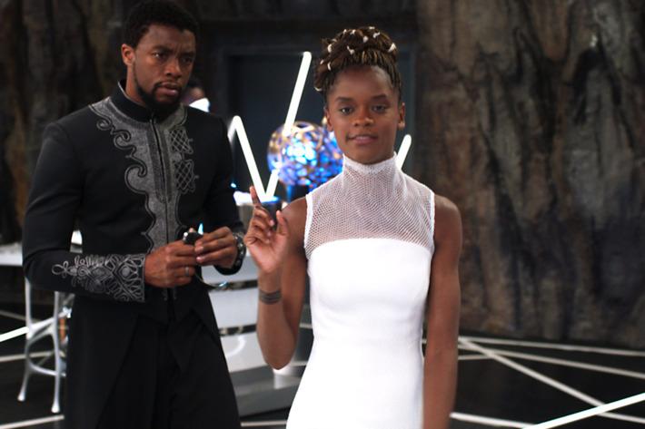 Black Panther Letitia Wright Shuri BAFTA