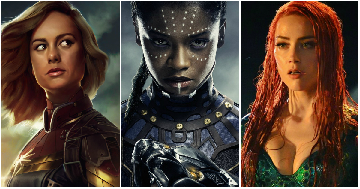 10 female superheroes who will give male counterparts run for their