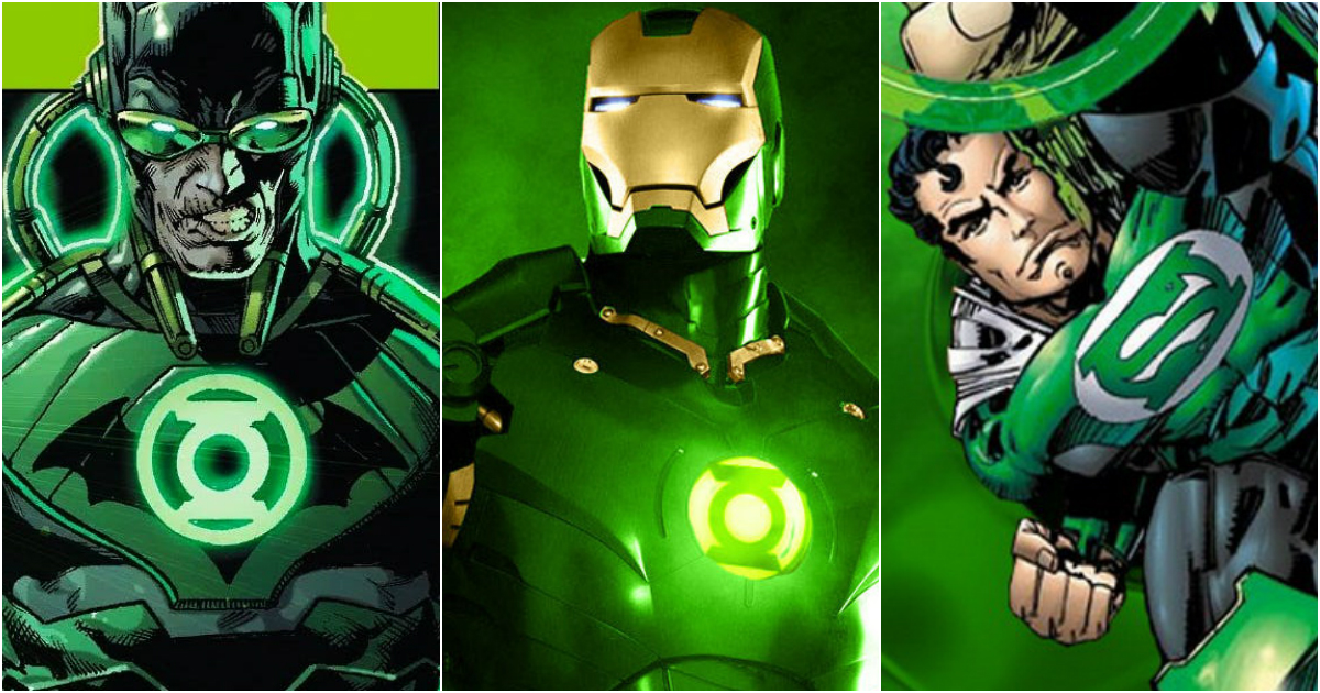 15 comic book characters you never knew were green lanterns. Black Bedroom Furniture Sets. Home Design Ideas