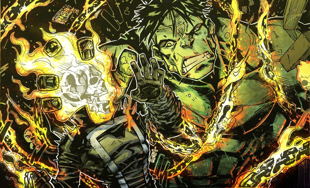 Hulk Vs Ghost Rider
