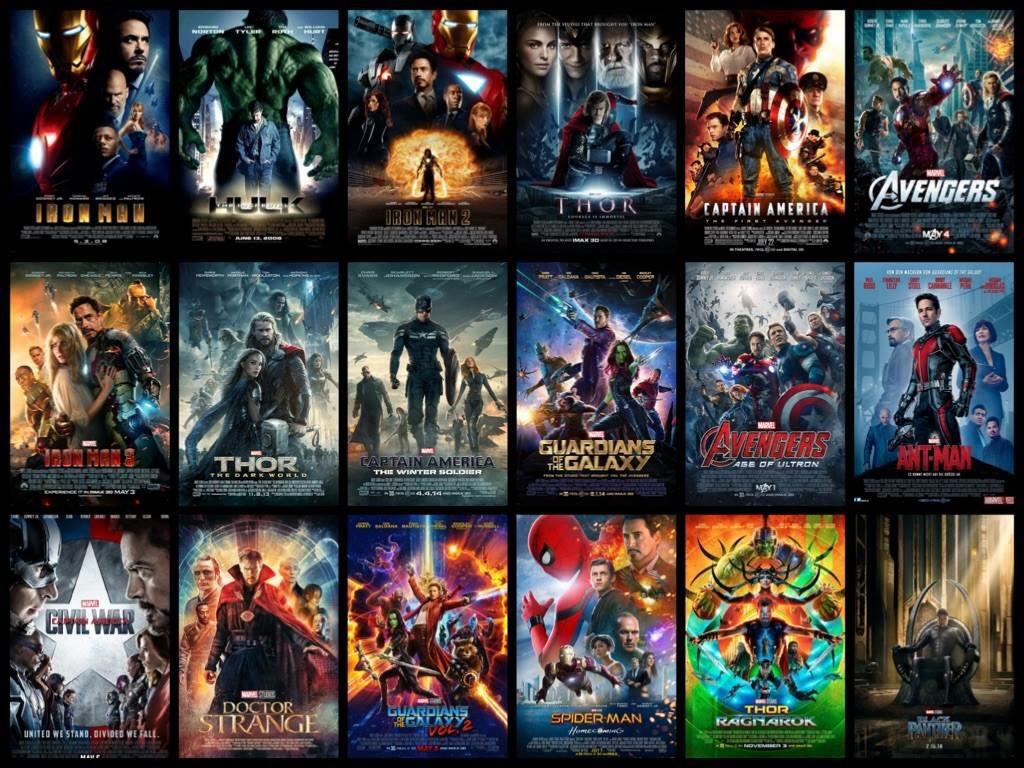 List Movies Marvel