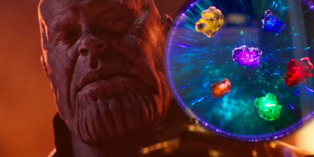 Avengers 4 thanos infinity stone