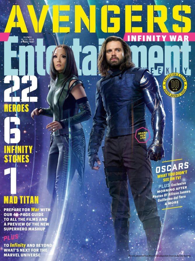Avengers Infinity War: Bucky Gets A New Code Name