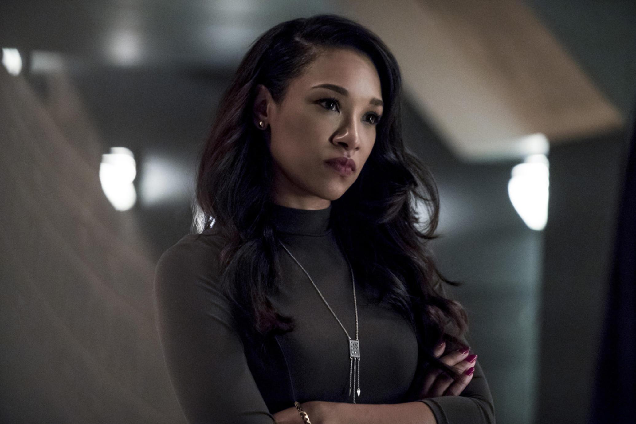 Iris West Allen speedster