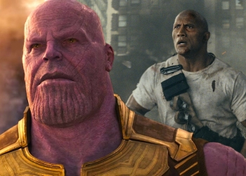 Dwayne Johnson Rampage Movie infinity war