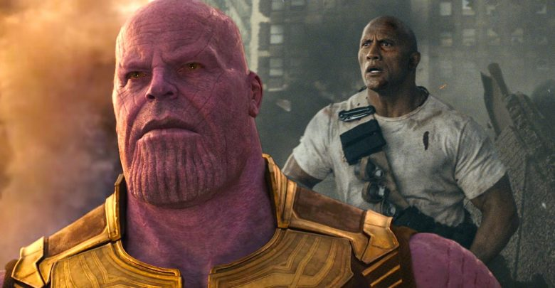Dwayne Johnson Rampage Movie infinity war