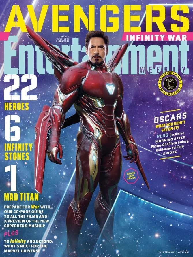 Iron Man's Bleeding Edge Armor