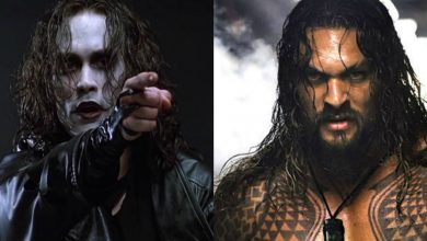 Jason Momoa The Crow Superhero Movie