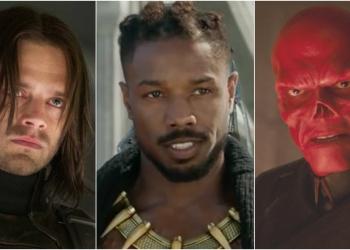 MCU Villains Killmonger winter soldier red skull