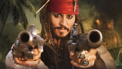 Johnny Depp Pirates of The Caribbean Amber Heard