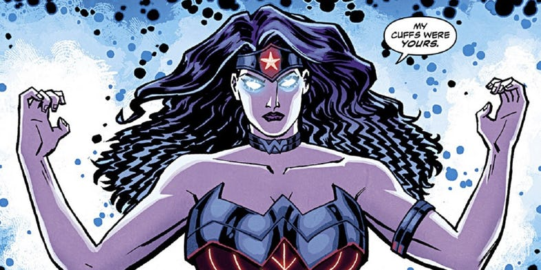 Wonder Woman Superpowers