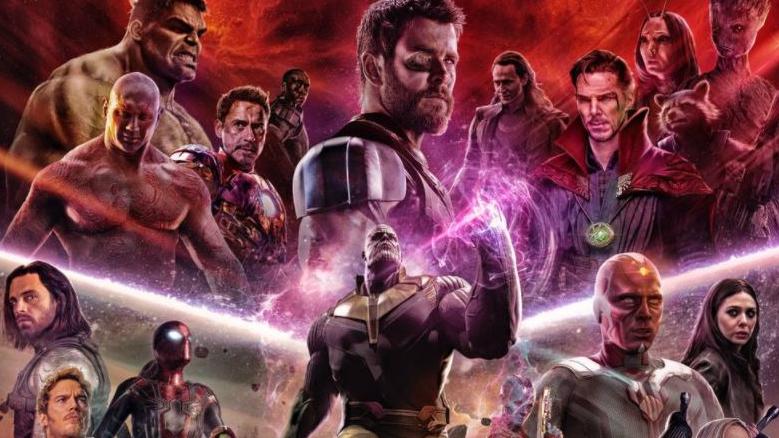avengers infinity war hulkbuster infinity gauntlet