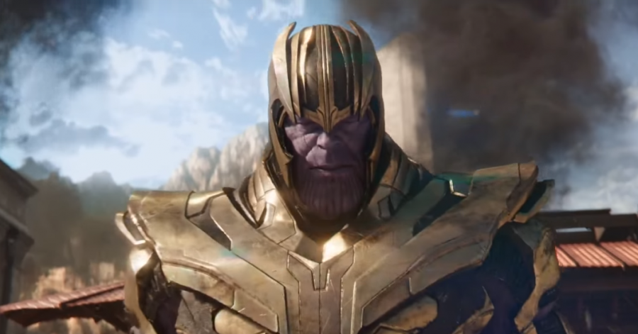Avengers: Infinity War Concept Art Young Thanos