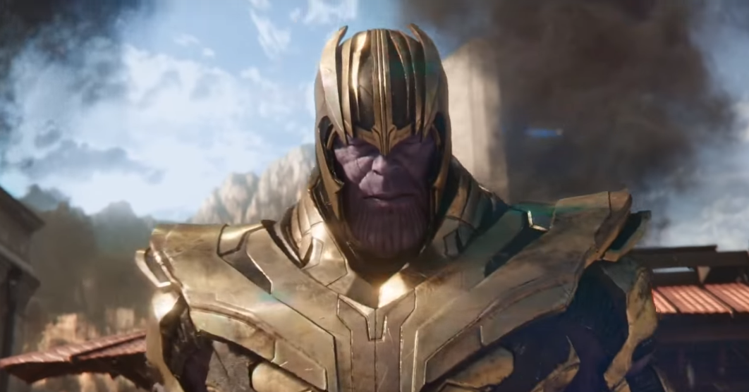 Thanos Novel Titan