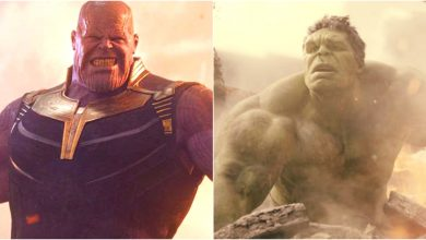 Avengers: Infinity War hulk thanos