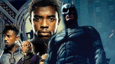 black panther dark knight box office
