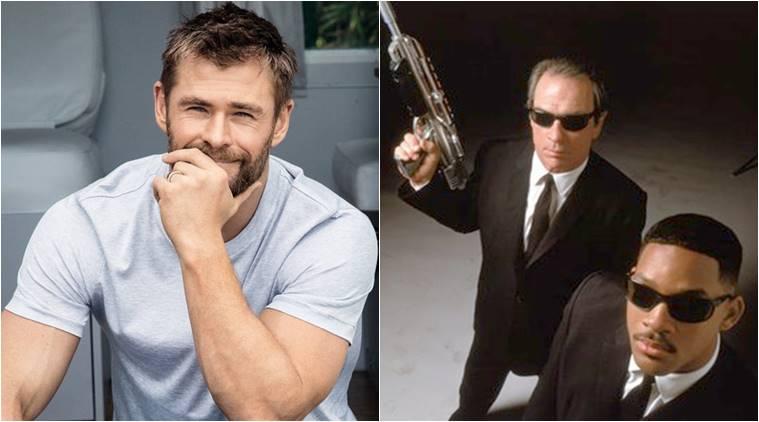 The First Set Photos of Men In Black Reboot Show Chris Hemsworth