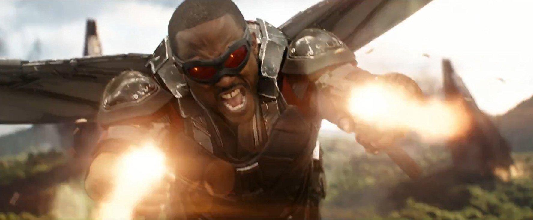 Falcon Captain America: Civil War