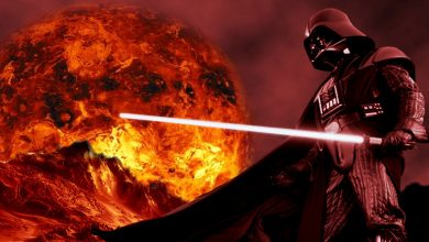 Photo of The Fascinating Origin Story of Darth Vader's Red Lightsaber – Revealed!!