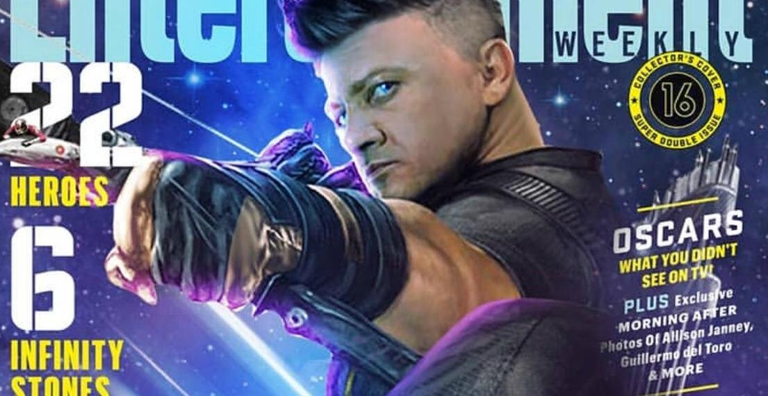 Jeremy Renner hawkeye avengers infinity war