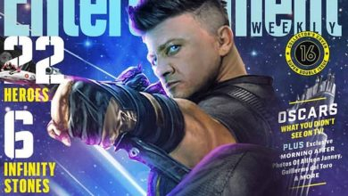 Photo of Jeremy Renner Shares A New Hawkeye EW Cover For Infinity War