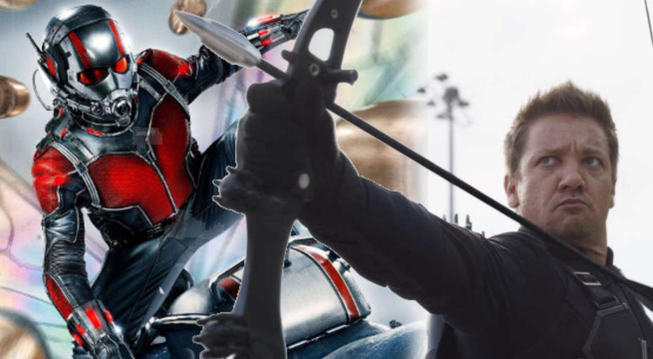 Avengers: Endgame Trailer Hawkeye Ant-Man
