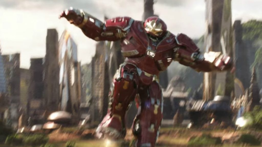 Avengers: Endgame International Poster Hulkbuster