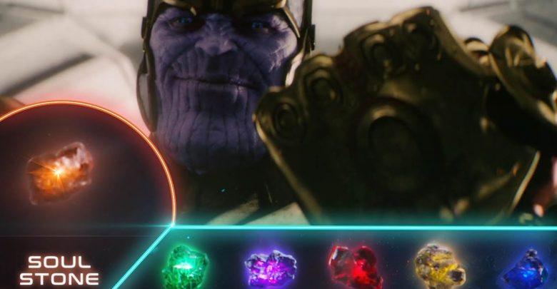 Infinity War Iron Man Thanos Soul Stone
