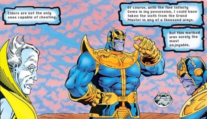 thanos comics infinity gems