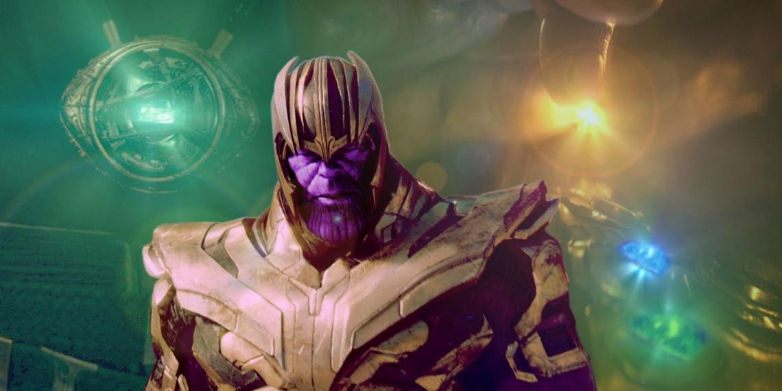 infinity war thanos beat hulk