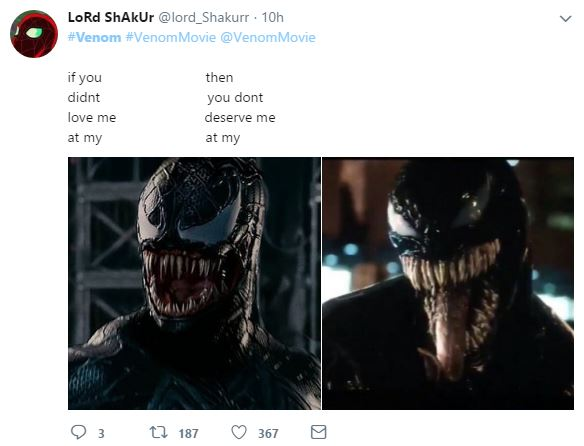 30 Hilarious Venom Trailer Memes That Will Have You Roll
